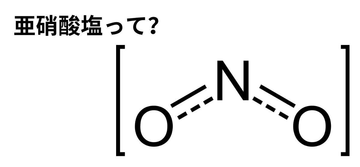 亜硝酸塩って?